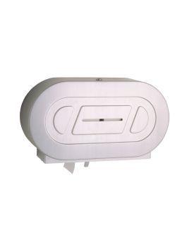 photo de Twin Jumbo-Roll Toilet Tissue Dispenser