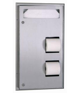 photo de Seat-Cover Dispenser and Toilet Tissue Dispenser