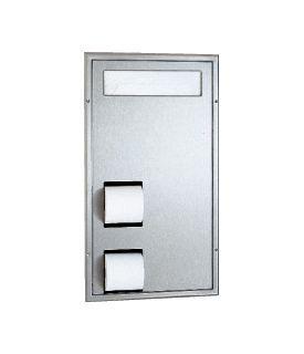 photo de Seat-Cover Dispenser and Toilet Tissue Dispenser Dual Bathroom