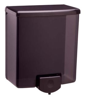 photo de Surface-Mounted all black Soap Dispenser