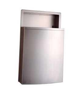 Recessed Waste Receptacle