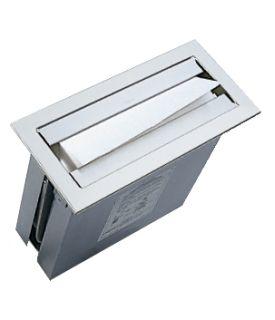 photo de Countertop Satin Finish Stainless Steel Paper Towel Dispenser