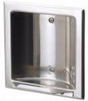 Recessed Stainless Steel Soap Holder