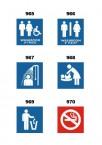 Standard Washroom Signage
