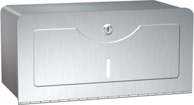 photo de Surface Mounted Stainless Steel Paper Towel Dispenser