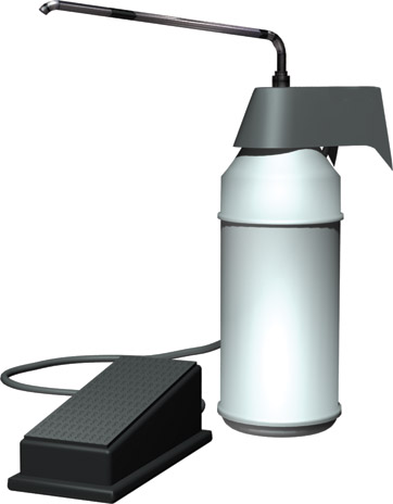 photo de Foot Operated Surgical Soap Dispenser