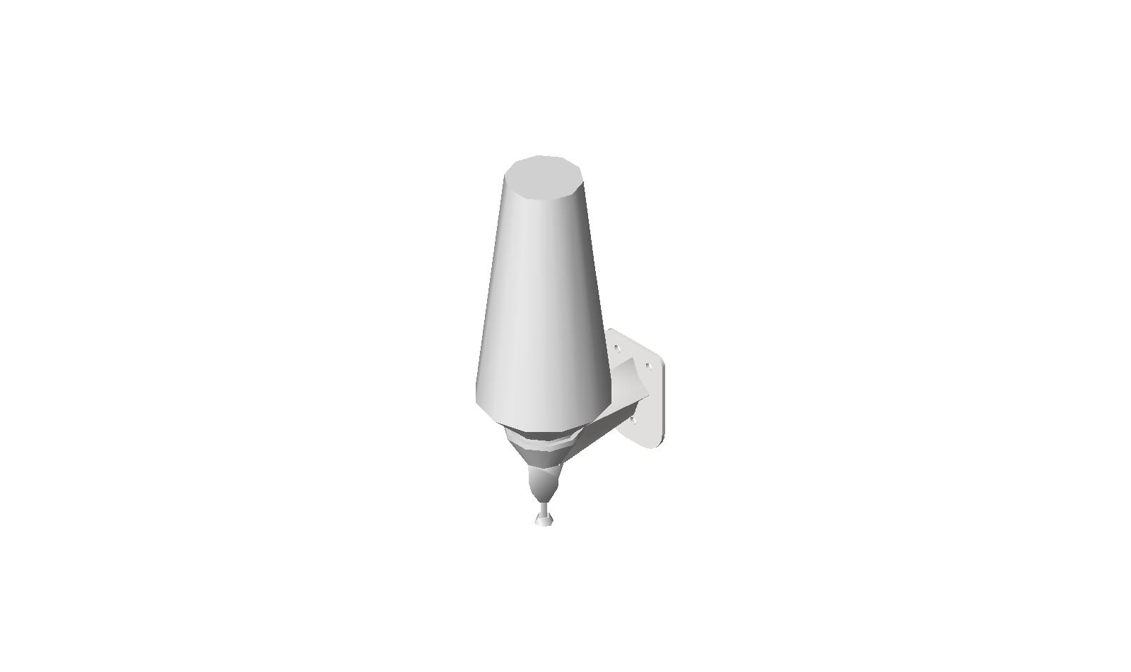 Surface Mounted Soap Dispenser  Push-Up Type