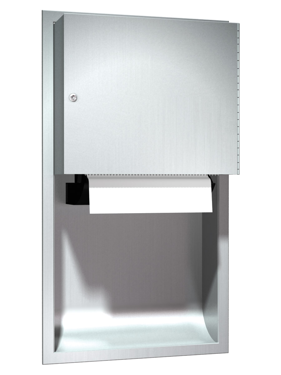 Stainless Steel Paper Towel Dispenser