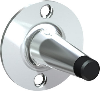 Butoir de porte chrome