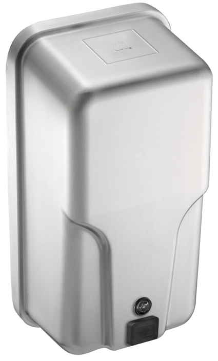 Vertical Surface Stainless Steel Soap dispenser