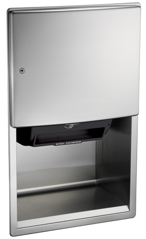 photo de Stainless Steel Automatic Paper Towel Dispenser