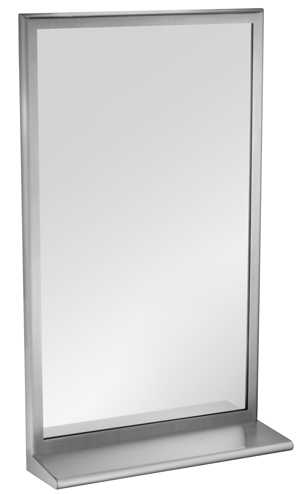 ROVAL Mirror With Shelf and tempered glass