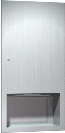 photo de Stainless Steel Paper Towel Dispenser